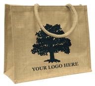 Printed Jute Sample Bag