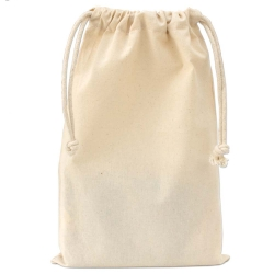 Medium Cotton Drawstring Bag