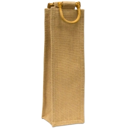 One Bottle Without Window Jute Bag