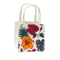 Jute Flower Pot Bag
